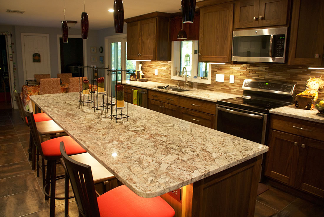 Sienna Bordeaux Polished Granite