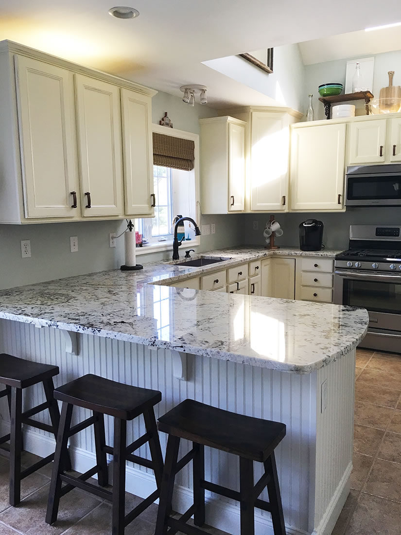 Vail White Polished Granite