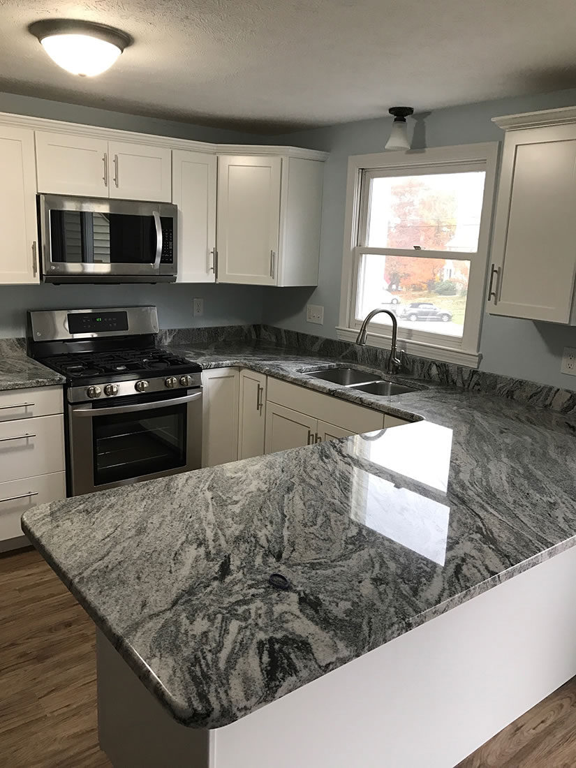Silver Cloud Polished Granite